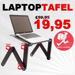 Laptoptafel bed blokker