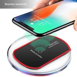 Crystal QI Wireless Charger voor je iPhone of Samsung